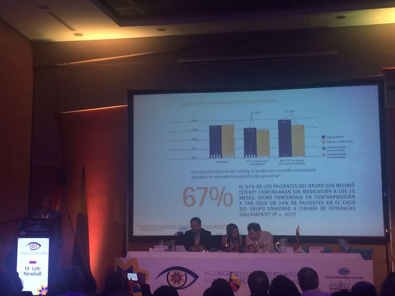 I Congreso Andino de Segmento Anterior y VI Congreso Colombo Ecuatoriano de Catarata y Segmento anterior 2017