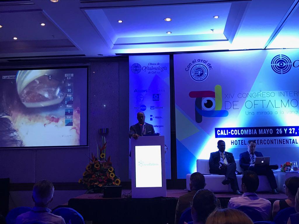 XIV Congreso internacional de Oftalmología 2017